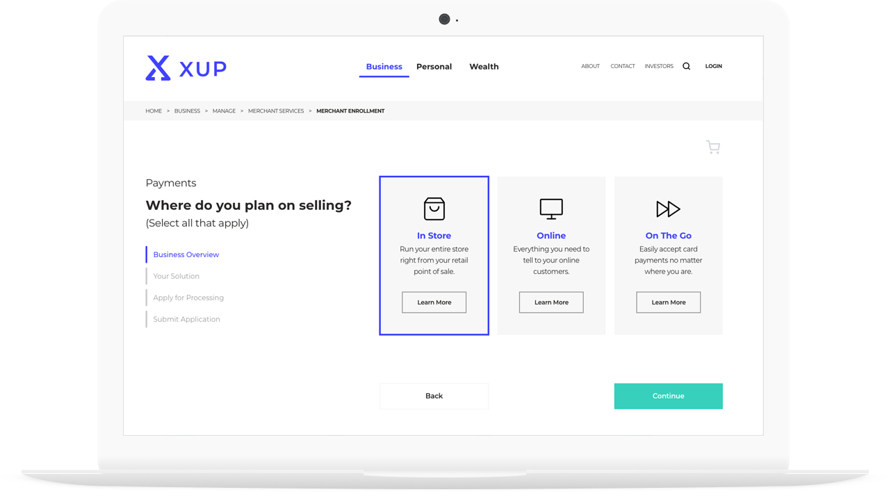 XUP Interface